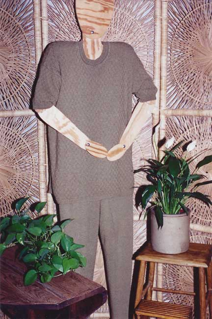 sandee's kwik knits pattern book womens tunics pants and skirts machine knitting