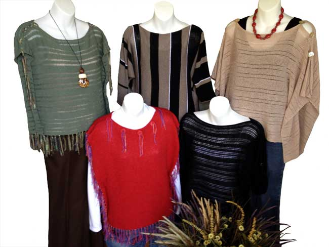 Sideway Knit Sweaters for Knitting Machines Sandee's Kwik Knit