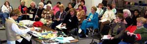 Knitting Machine Seminar, Sandee Cherry Instructor